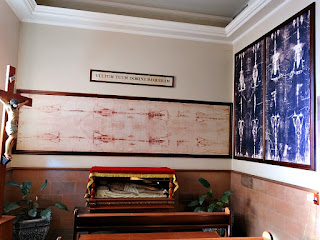 Santo Sudário na Igreja Matriz de Encantado (RS)