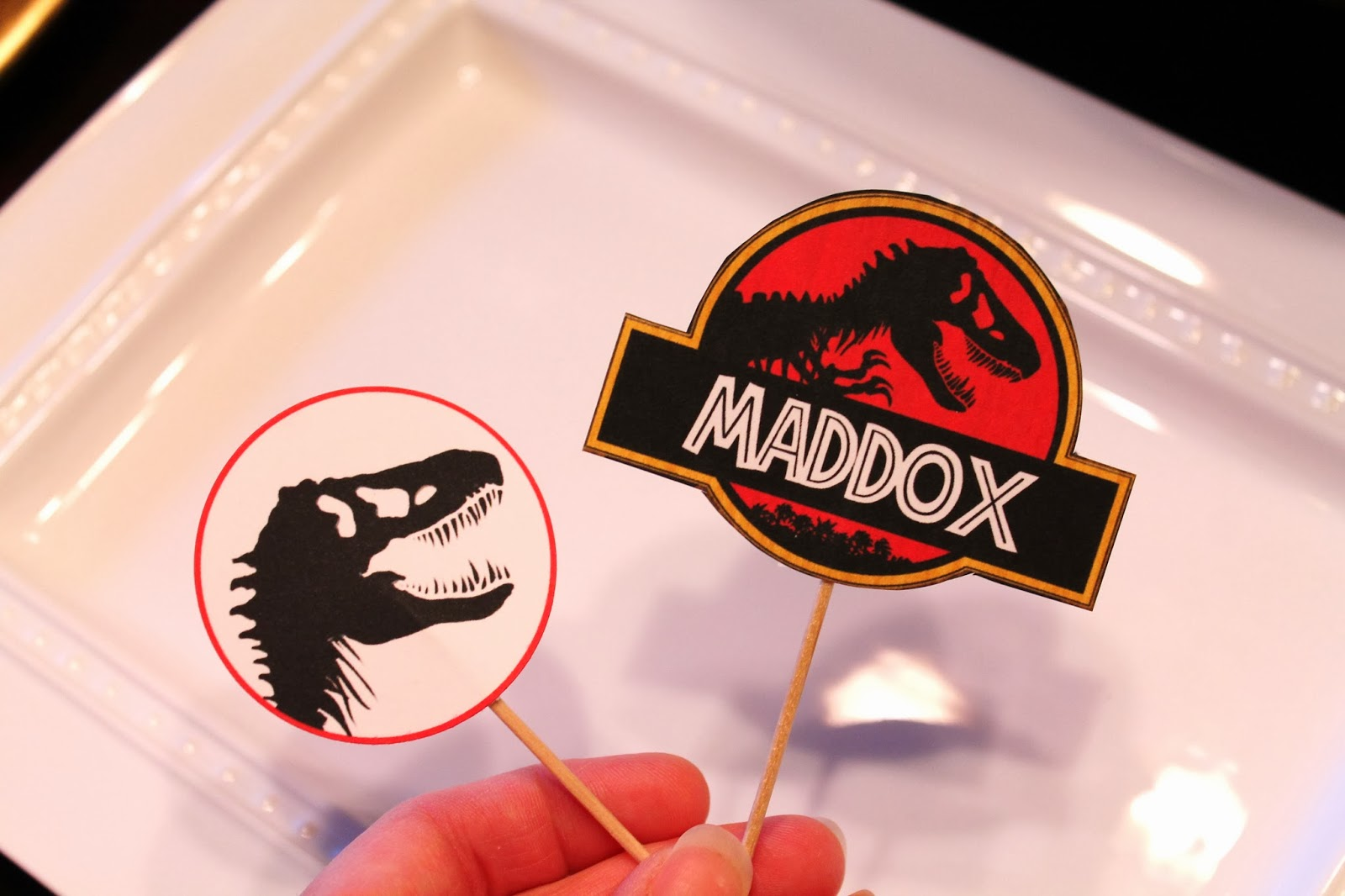 Free Dinosaur Jurrasic Park Party Printables