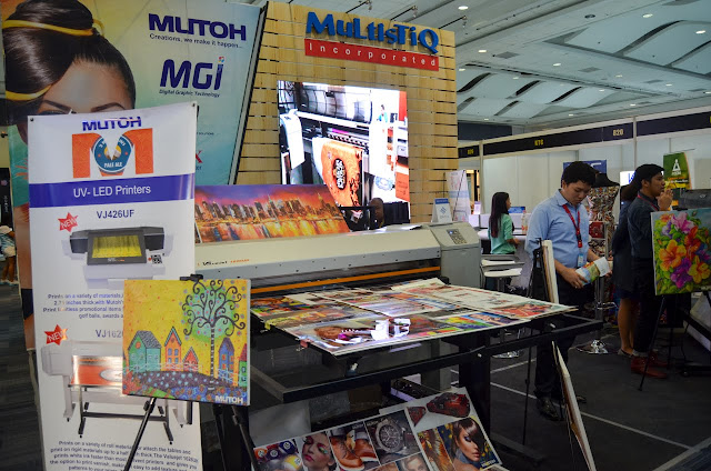 MultisTiQ Inc. exhibit booth