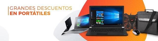 Top 10 ofertas promoción Grandes descuentos en portátiles de PCComponentes