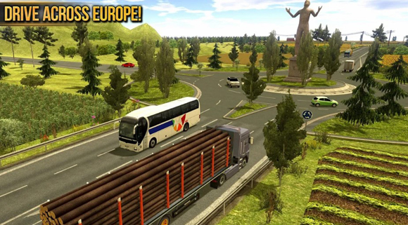 Truck Simulator 2018 Europe Mod Apk for Android