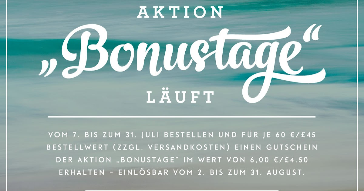 blumis kreativ blog neue aktion bei stampin 39 up lasst die bonustage beginnen. Black Bedroom Furniture Sets. Home Design Ideas