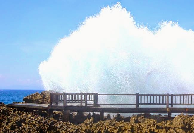Water Blow attractions in Nusa Dua