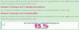 seo score versi chkme