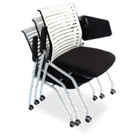 Tablet Arm Training Room Chair That Can Be Stacked