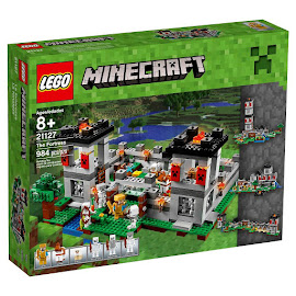 Minecraft The Fortress Lego Set