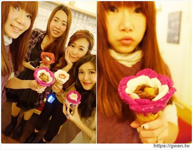 O Rose法式冰淇淋,捷運美食,捷運藍線美食,花朵冰淇淋,玫瑰花冰淇淋,少女甜點,夢幻甜點,手工冰淇淋,甜點下午茶,玫瑰花瓣,法國主廚-24