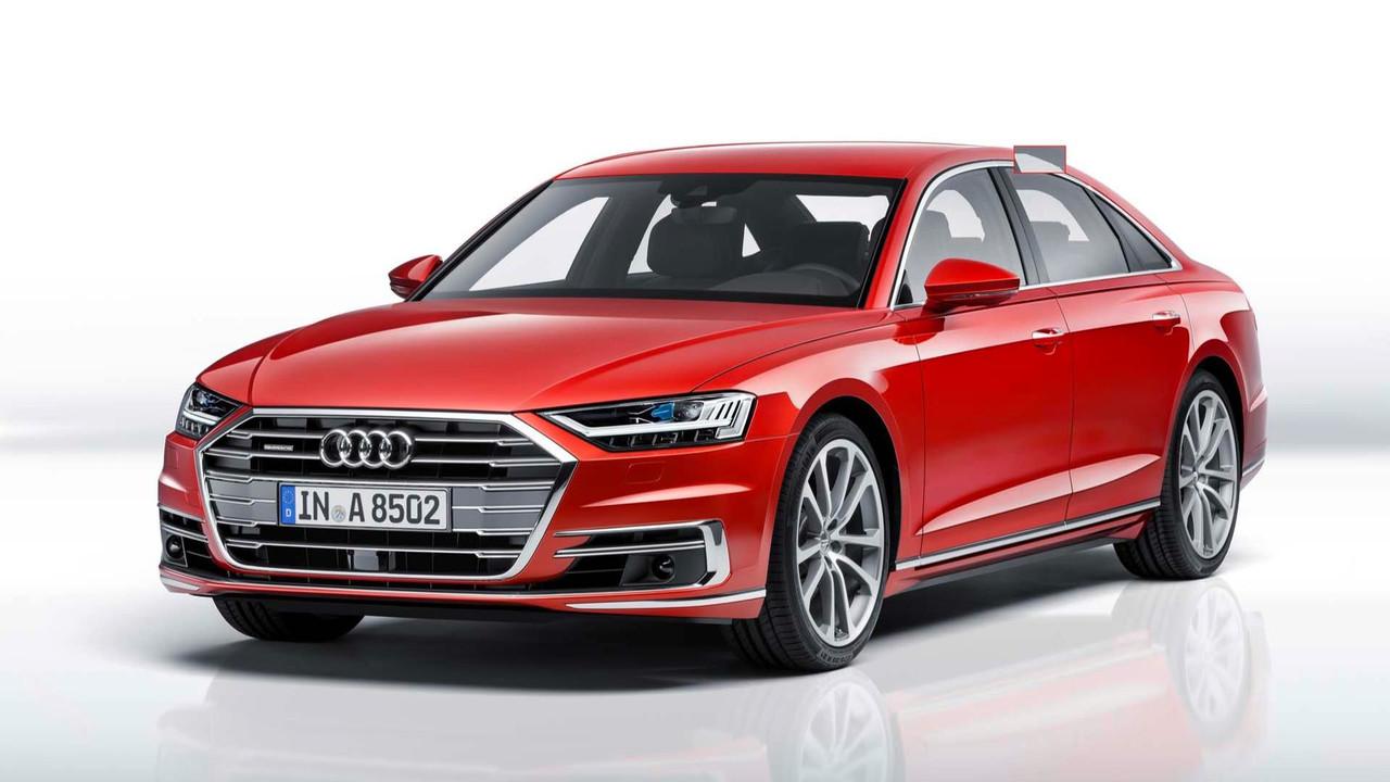 Kích thước xe Audi A8 đời mới