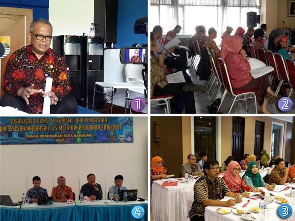 Kegiatan Disdik Kota Bandung 13 April 2017