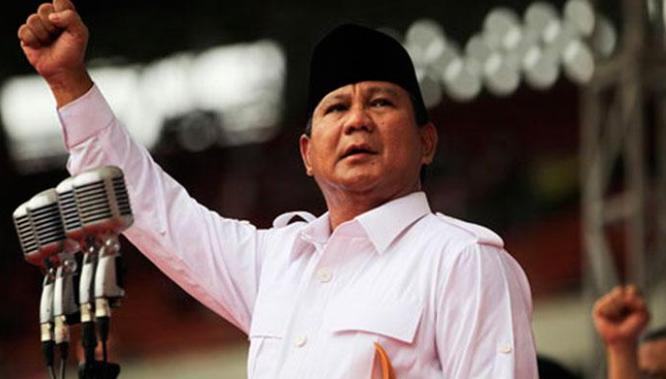 Hasil Survei SPIN, Prabowo Unggul di Jawa Barat