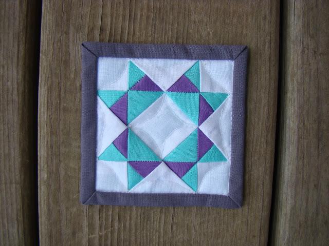 Missouri star mini mini quilt