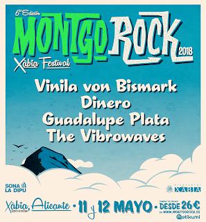 Montgorock Xàbia Festival empieza a despejar su 6ª edición.