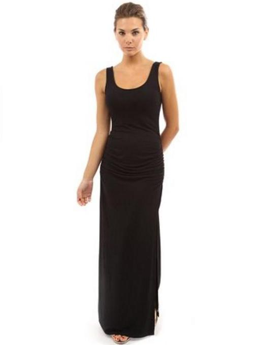 how to wear a black maxi dress daves fashions