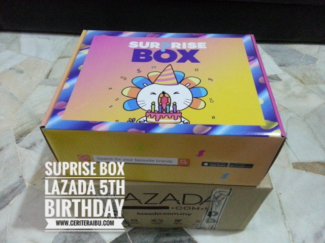 Lazada Surprise Box Memang Awesome!!!