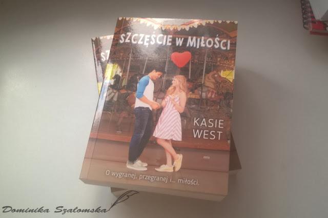 """[PREMIEROWA] #174 Recenzja książki """"Szczęście w miłości"""" Kasie West - Patronat"""