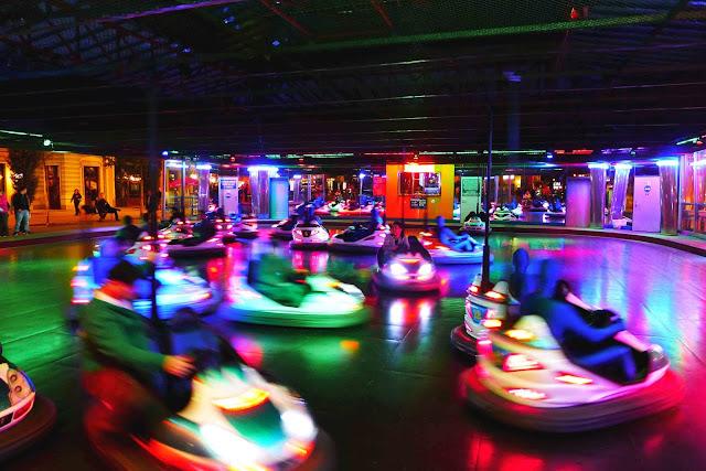 Prater Amusement Park Bumper Cars