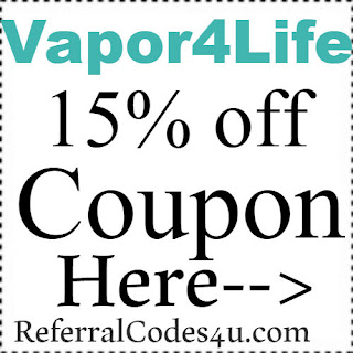 Vapor4Life Promo Codes, Coupons & Discount Codes 2018-2019 Jan, Feb, March, April, May, June, July, Aug, Sep, Oct, Nov, Dec