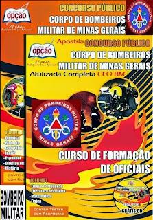 Apostila Corpo de Bombeiros Militar (Atualizada) CFO BM MG 2016.