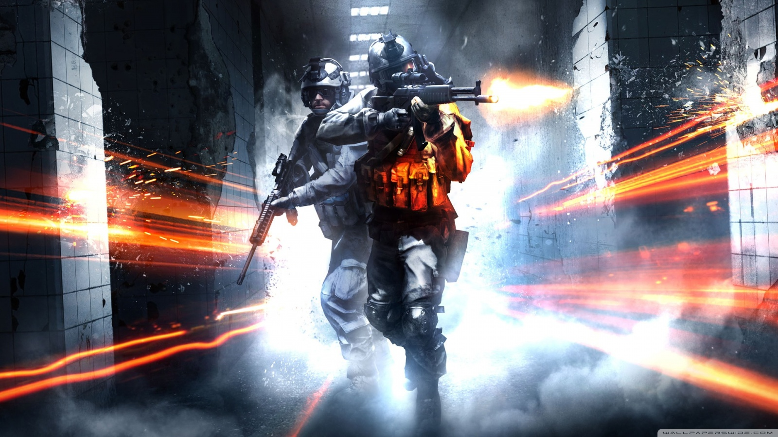 Freaking Spot: Battlefield Full HD 1080p Wallpapers