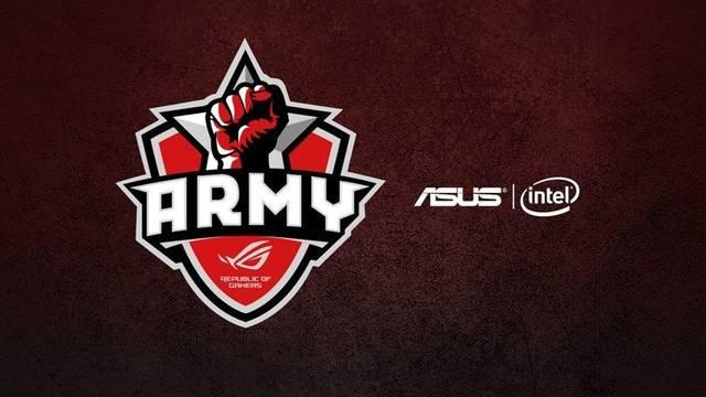 Asus ROG Army dio a conocer su roster Europeo de Fortnite