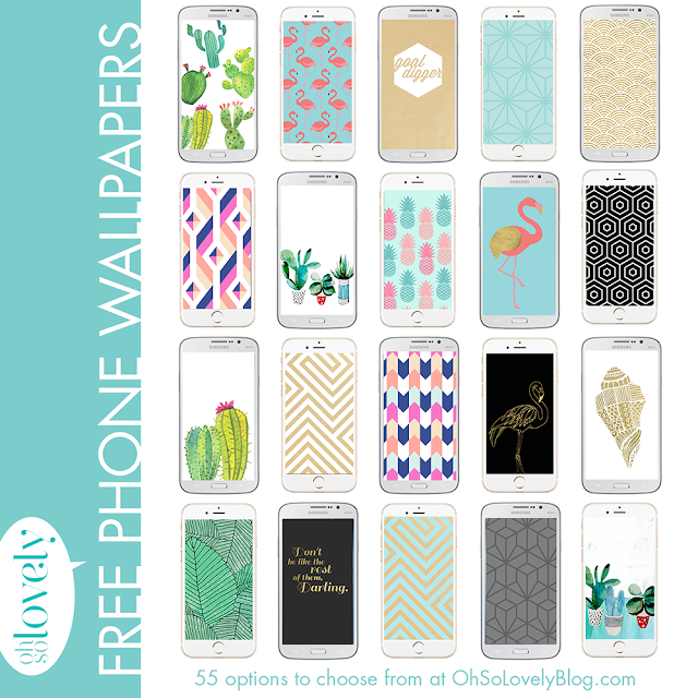 Download your FREE smart phone wallpapers today — there are so many cute options to choose from! Go ahead and dress your tech!