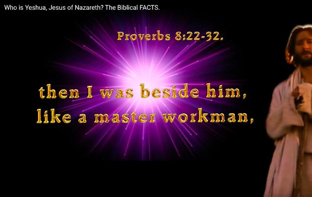 Proverbs 8:30.