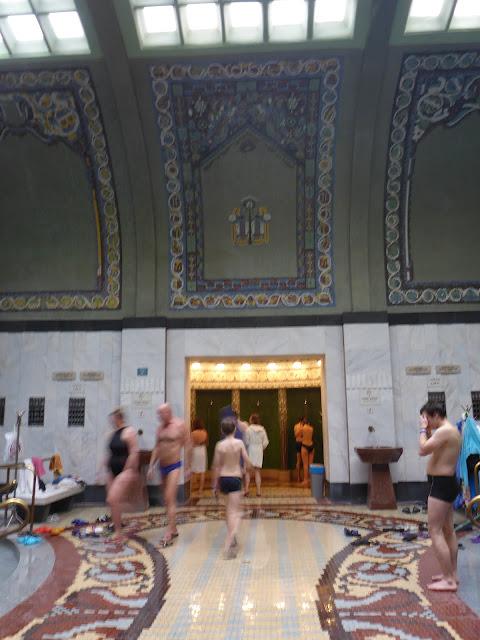 bains Gellert Budapest Hongrie