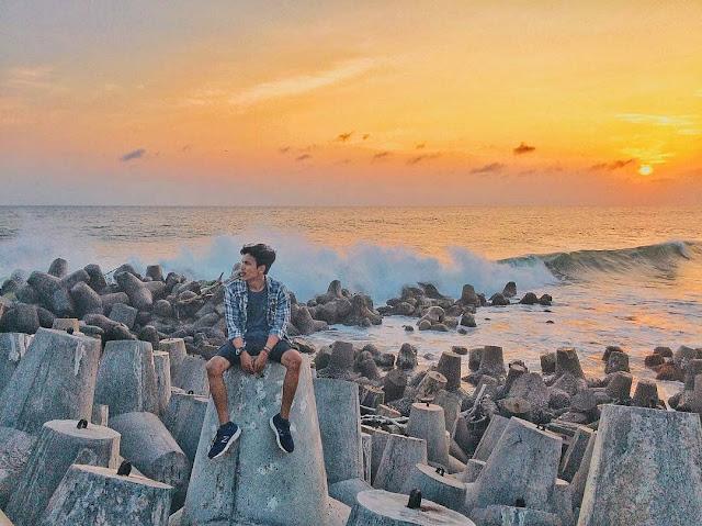 Tempat wisata Pantai Glagah Kulon Progo | paket wisata | harga tiket | alamat