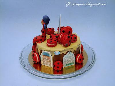 prodigiosa ladybug tarta