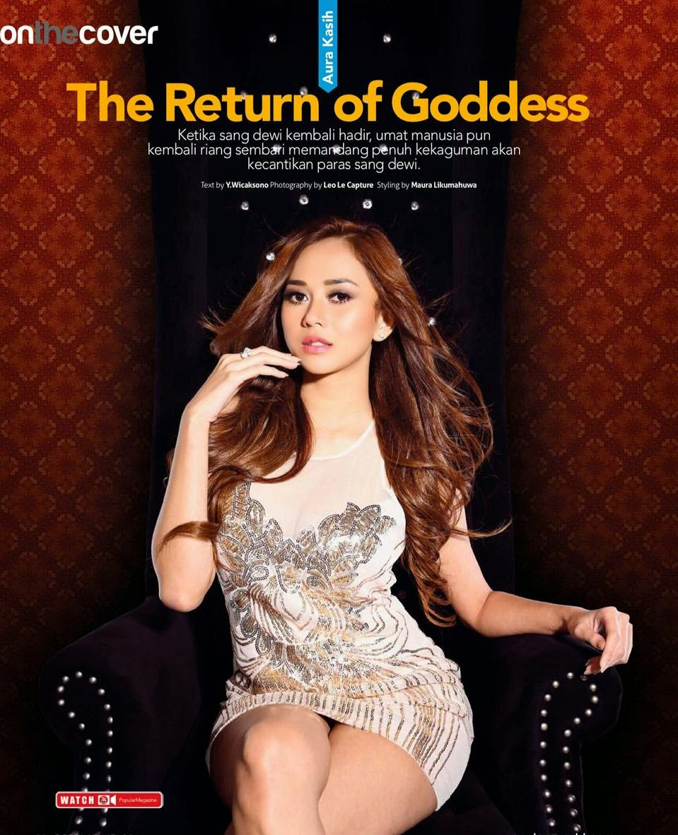 WikiGIRLS: Aura Kasih for Popular World Magazine May 2014 ...Rhere Popular Magazine