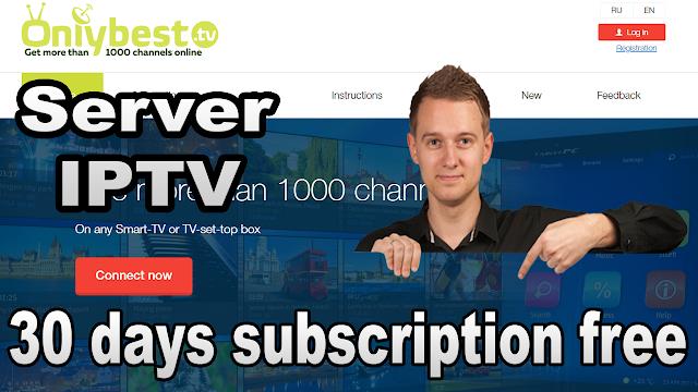 سيرفر iptv لمدة شهر كامل best iptv m3u playlist 30 days subscription free