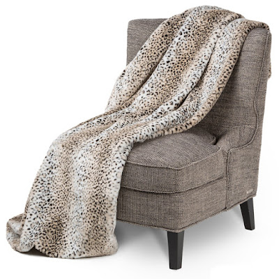 Faux Fur Throw by Michael Amini