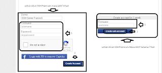 Mengisi Username pada Akun SSH