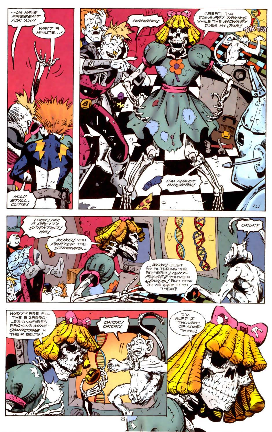Legion of Super-Heroes (1989) 115 Page 8