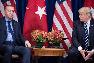 الرئيس التركى رجب طيب أردوغان، يهدد باحتلال مدينتى منبج وإدلب فى سوريا بعد السيطرة على عفرين