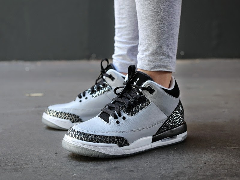 Billig Nike Air Jordan 3 Retro (BG) 398614 004 air max 90