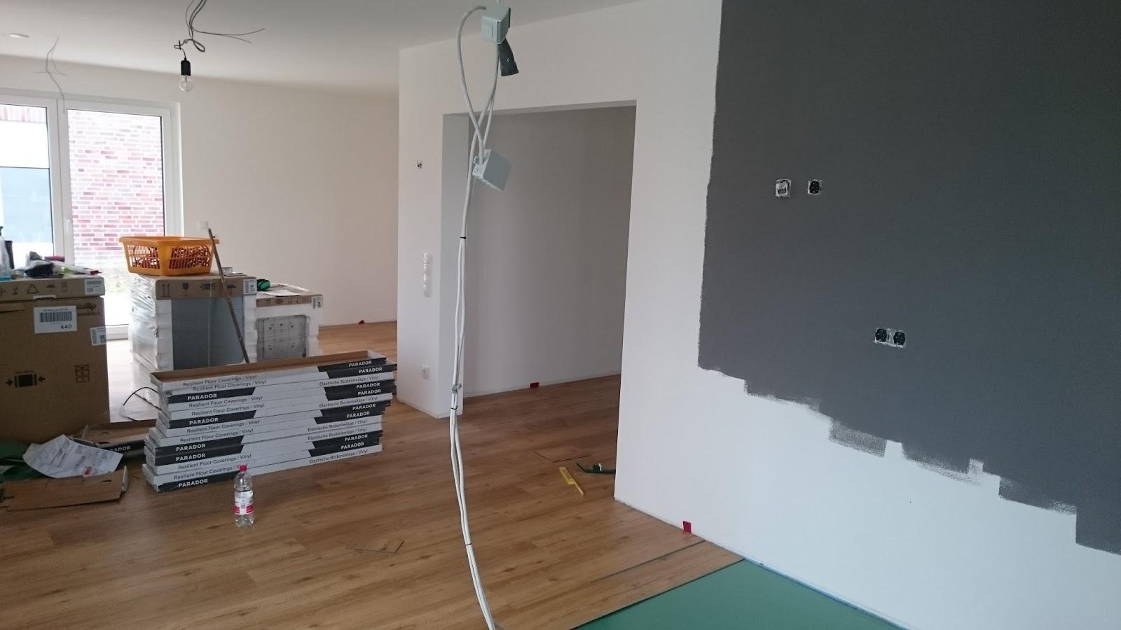 stadtvilla in elmenhorst klick f r klick der vinyl fu boden entsteht. Black Bedroom Furniture Sets. Home Design Ideas