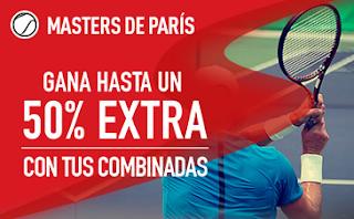 sportium Masters París: Extra en Combinadas hasta 5 noviembre