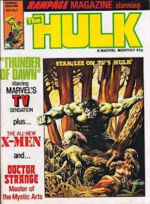 Rampage Magazine #11, The Hulk