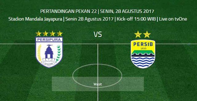 Persipura vs Persib Bandung