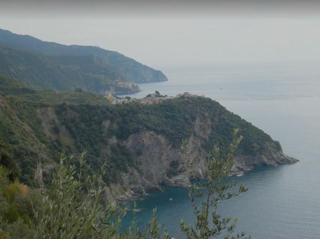 il tratto costiero sotto Corniglia