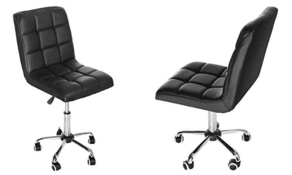 Sonmer Fashion Casual Lift Chair, For Office Work Beauty Salon-Black