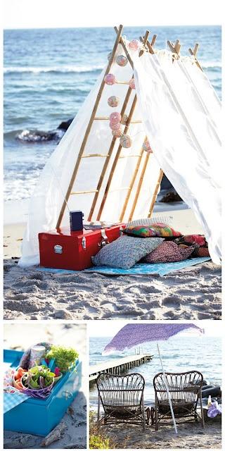 Heather Horwitz Design Design Diy Beach Tents