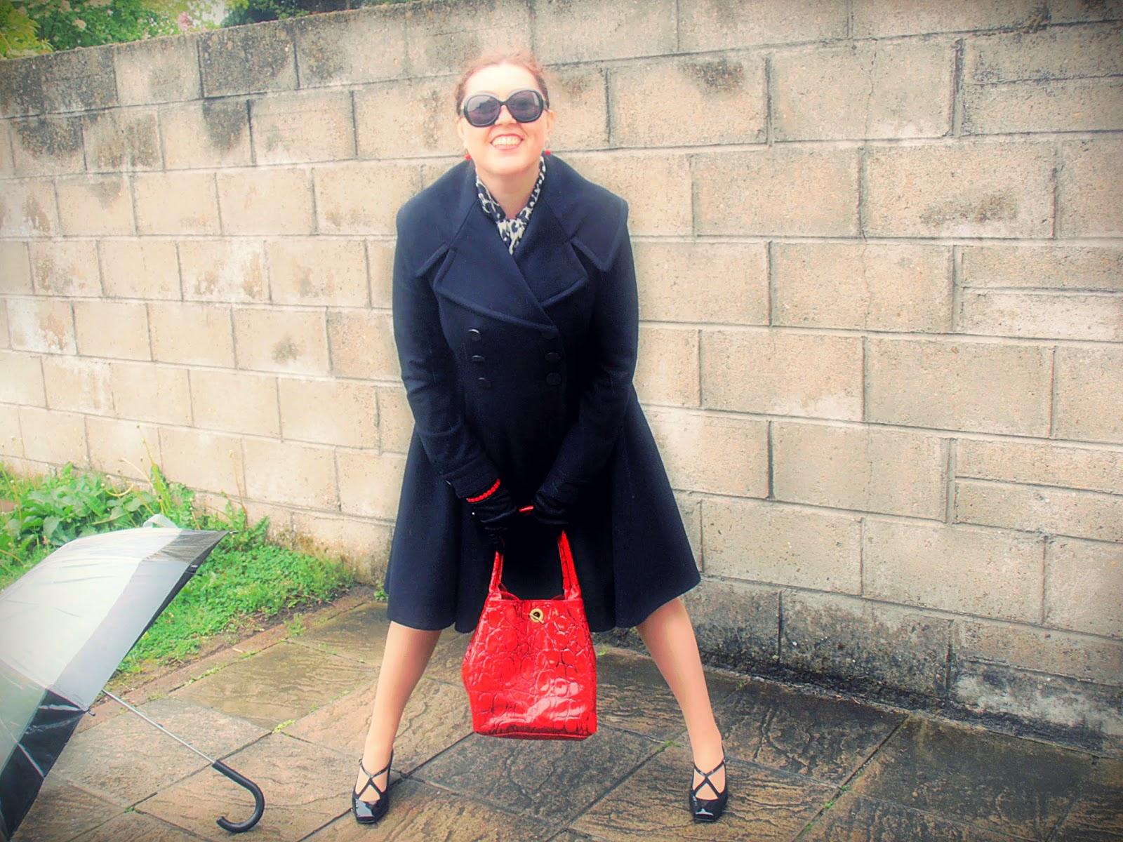 OOTD : Elegancja z płaszczem Orsay, pantofelki Studio Pollini / Elegance with a jacket Orsay, booties Studio Pollini.
