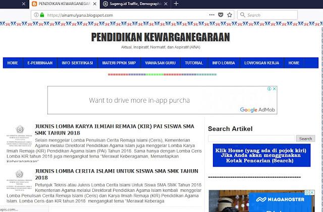 Blog Indonesia Dengan Peringkat Alexa Paling Kecil