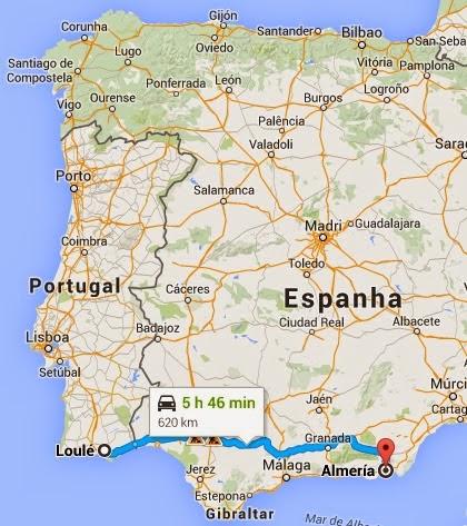 mapa espanha almeria Erasmus+ Cyndi Graça: Almeria(Almería) Espanha mapa espanha almeria