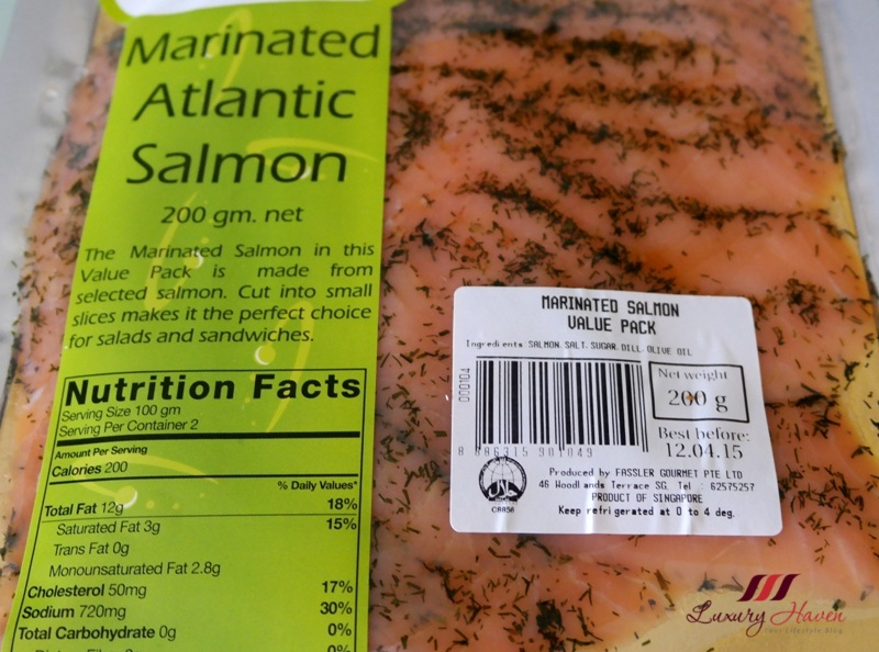 got my Smoked Salmon from Fassler Gourmet during one of my Annual ...