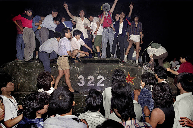 tragedi pembantaian di Tiananmen