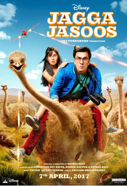 Jagga Jasoos, Jagga Jasoos Poster, Jagga Jasoos First Look, Jagga Jasoos Ranbir Kapoor, Jagga Jasoos Katrina Kaif, Jagga Jasoos Photos