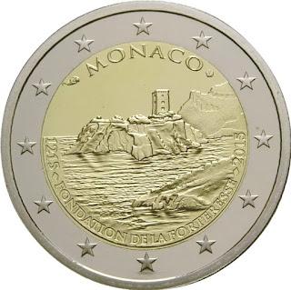 2€ Forteresse 2015 Monaco